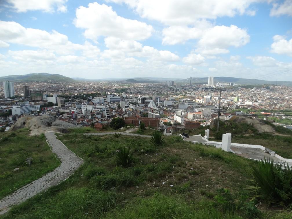 O Monte do Bom Jesus é um dos símbolos de Caruaru, que completa 162 anos neste 18 de maio â?? Foto: Lafaete Vaz/G1
