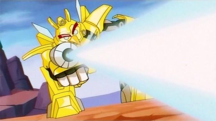 Robôs, lasers e transformações trazem Transformers para o mundo de Angry Birds (Foto: Reprodução)