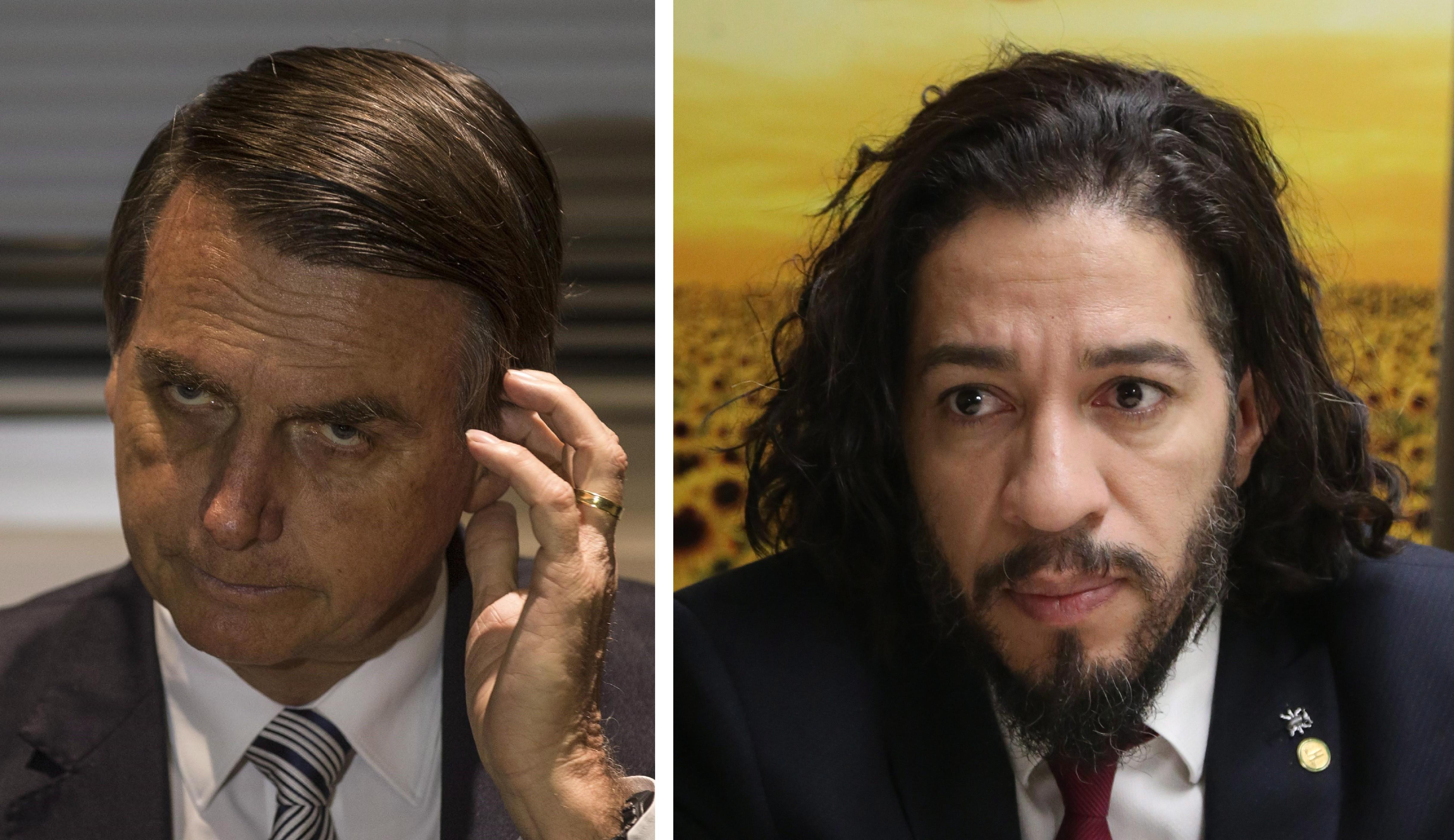 Bolsonaro e Wyllys