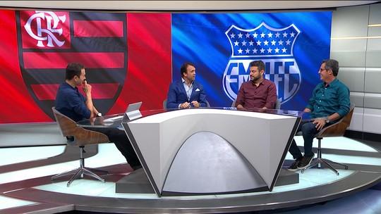 """Petkovic: """"O Flamengo não vai achar um jogador melhor que o Juan""""; Lino discorda"""