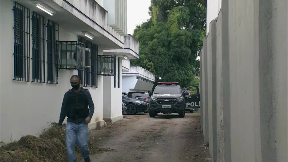 Segunda fase da Operação Rateio foi deflagrada nesta quinta-feira (29) — Foto: Reprodução/TV Globo