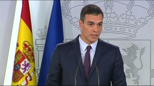 Premiê espanhol convoca eleições legislativas antecipadas para 28 de abril