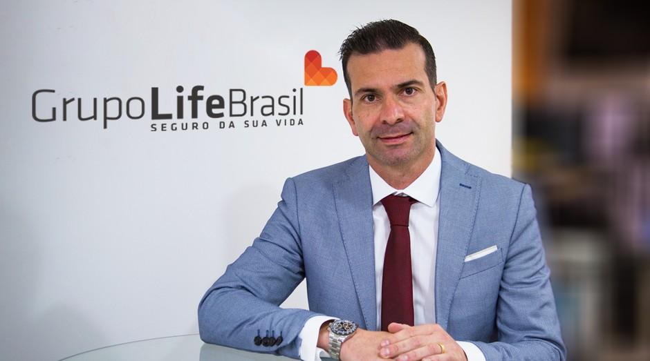 Alberto Júnior é fundador e CEO do grupo Life Brasil, holding que oferece serviços de seguro (Foto: Divulgação)