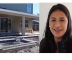 Simone mostra fachada de sua casa em Orlando, nos EUA | Reprodução/Youtube
