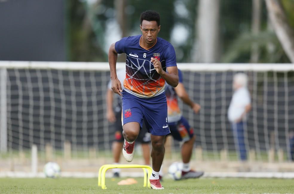 Fabrício está sem clube desde o fim do contrato com o Vasco — Foto: Rafael Ribeiro/Vasco.com.br