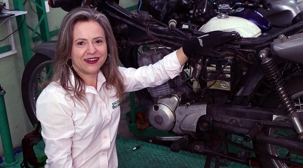 Sandra Nalli, da Escola do Mecânico (Foto: Divulgação)