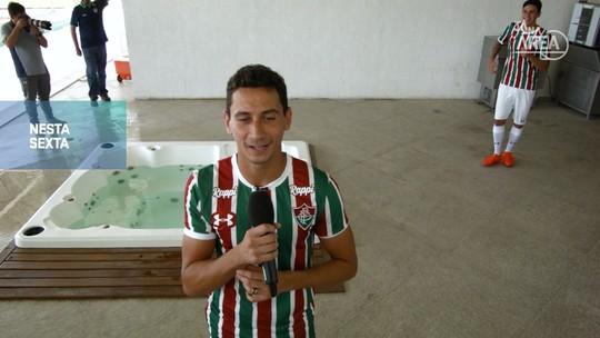 Futeokê: no quarto episódio da série, veja as perfomances dos jogadores do Fluminense com o microfone
