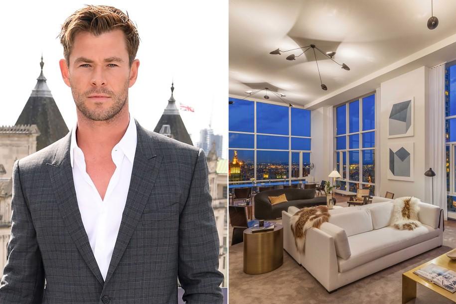 Chris Hemsworth compra cobertura de R$ 50 milhões em Nova York (Foto: Getty Images e Divulgação)