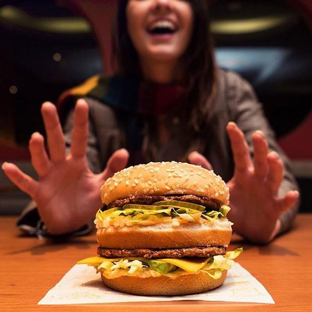 Big Mac (Foto: Reprodução/Instragram)