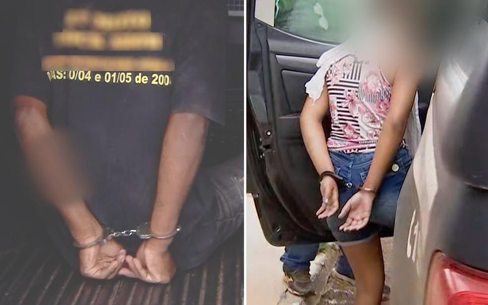 Bebê com fraturas e queimaduras está internada em estado gravíssimo em Goiânia; pais são suspeitos do crime Goiás — Foto: Reprodução/TV Anhanguera