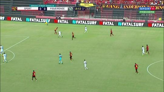 Sport x Figueirense: assista aos melhores momentos do jogo