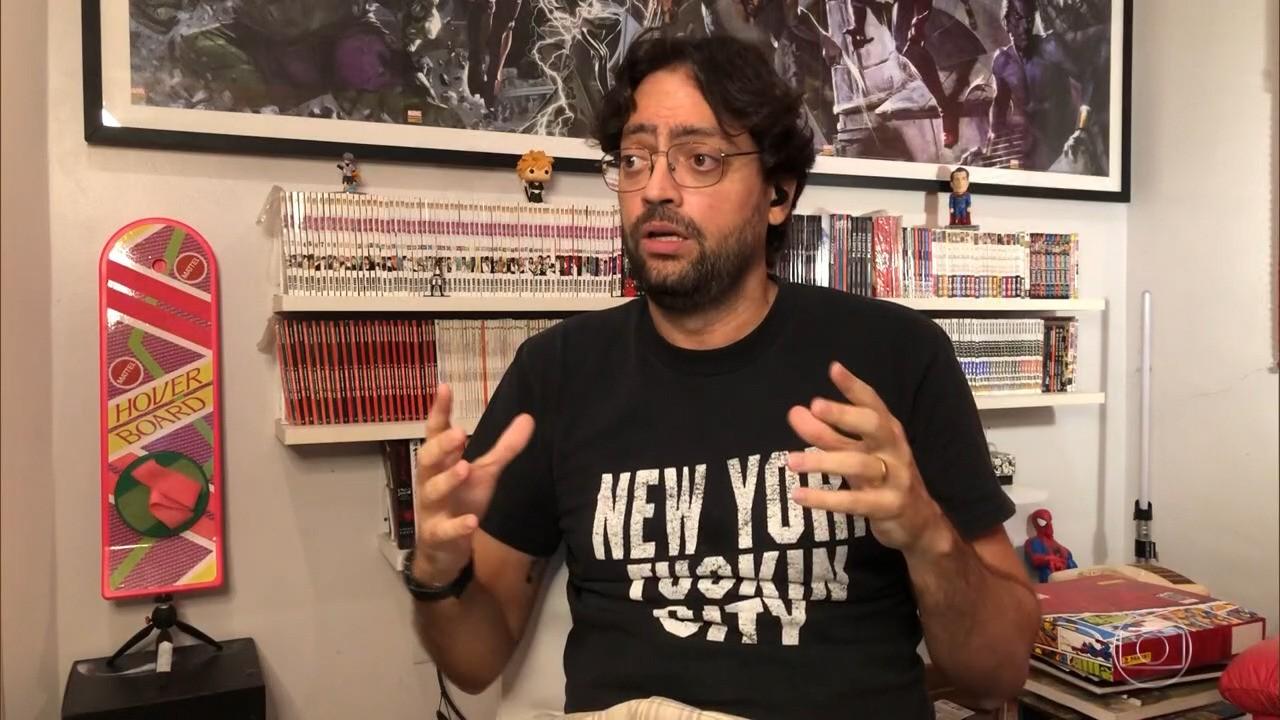 Fernando Caruso apresenta 'Cada Um no Seu Quadrado' ao lado de Paulo Vieira