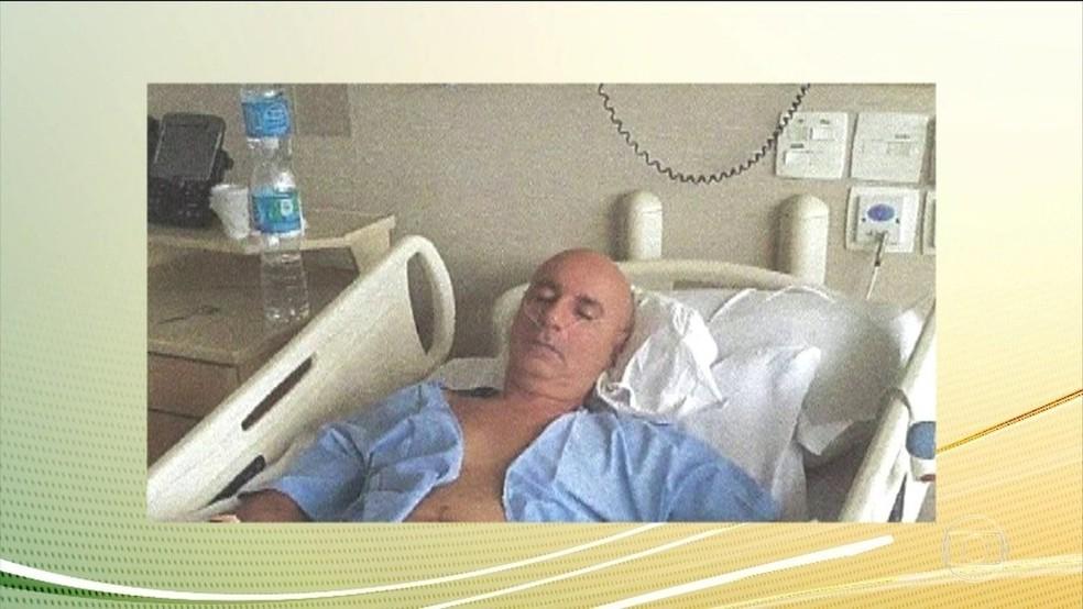 Fabrício Queiroz, ex-assessor de Flávio Bolsonaro — Foto: Reprodução/TV Globo