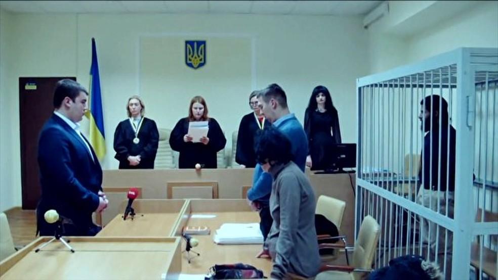 Preso na Ucrânia, Rafael Lusvarghi, de 32 anos, confessou crimes sob tortura, diz defesa (Foto: Reprodução/TV Globo)