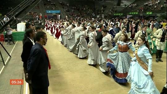 Veja como foi o encerramento do encontro de artes e tradição gaúcha