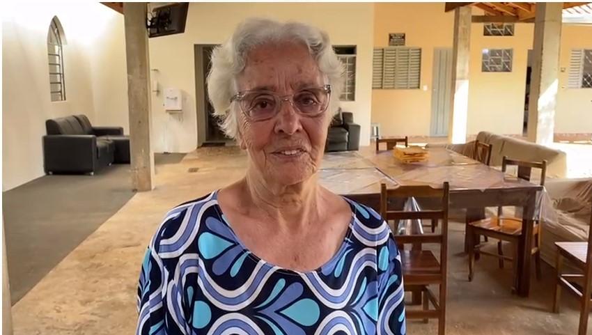 'É o nosso futuro', diz primeira idosa vacinada contra a Covid-19 na região de Ribeirão Preto