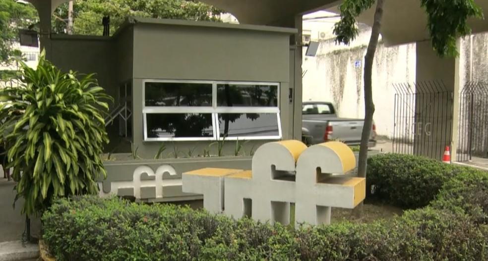 Universidade Federal Fluminense, em Niterói, no RJ — Foto: Reprodução/ TV Globo