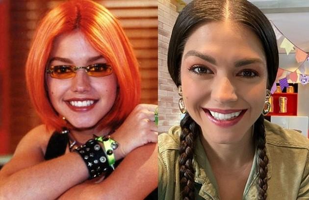Thais Fersoza foi Gisela, a melhor amiga de Cristal. Hoje ela tem um canal no YouTube (Foto: TV Globo - Reprodução/Instagram)