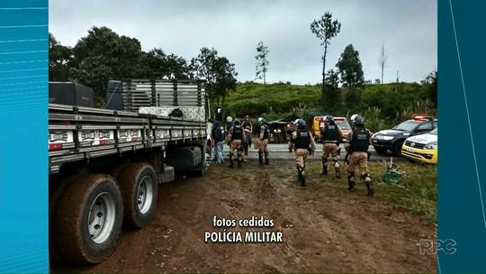 Polícia Militar cumpre reintegração de posse em fazenda em General Carneiro