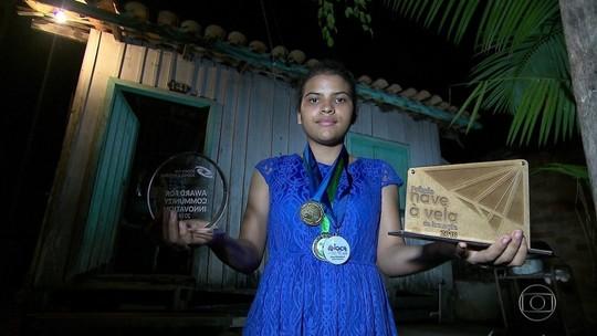 Estudante de escola pública do Pará ganha prêmios de ciência e viagem