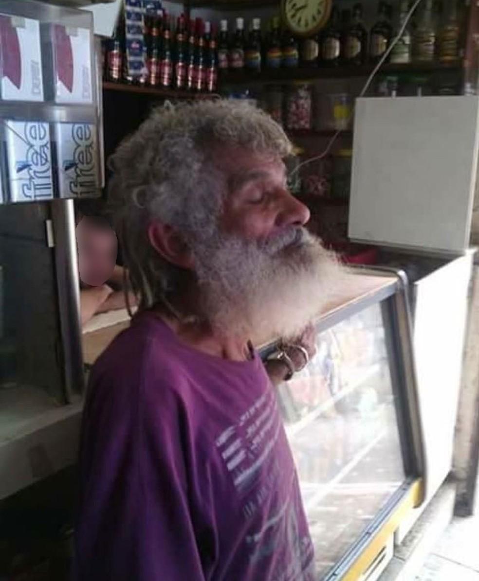 Morador conhecido como Marechal morreu na Rocinha  (Foto: Reprodução)