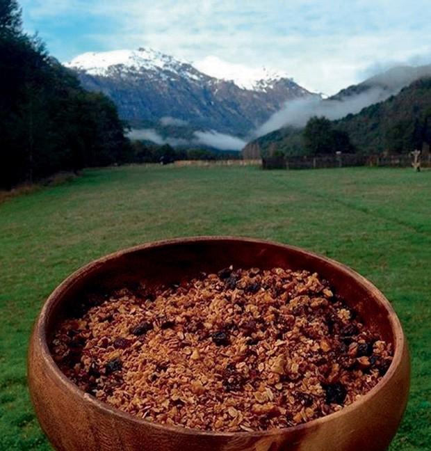 Granola feita no local (Foto: Divulgação)