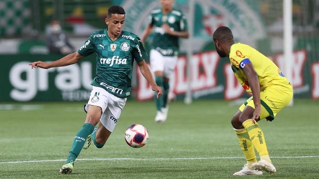 Giovani, atacante do Palmeiras