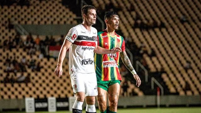 Sampaio e Santa Cruz se enfrentaram no Castelão