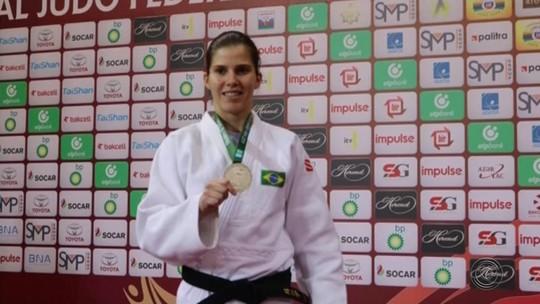 Judoca de Tupã é prata em torneio no Azerbaijão