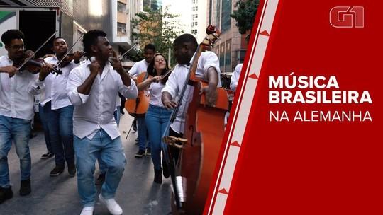 Premiada, orquestra com jovens de comunidades vai tocar na Europa