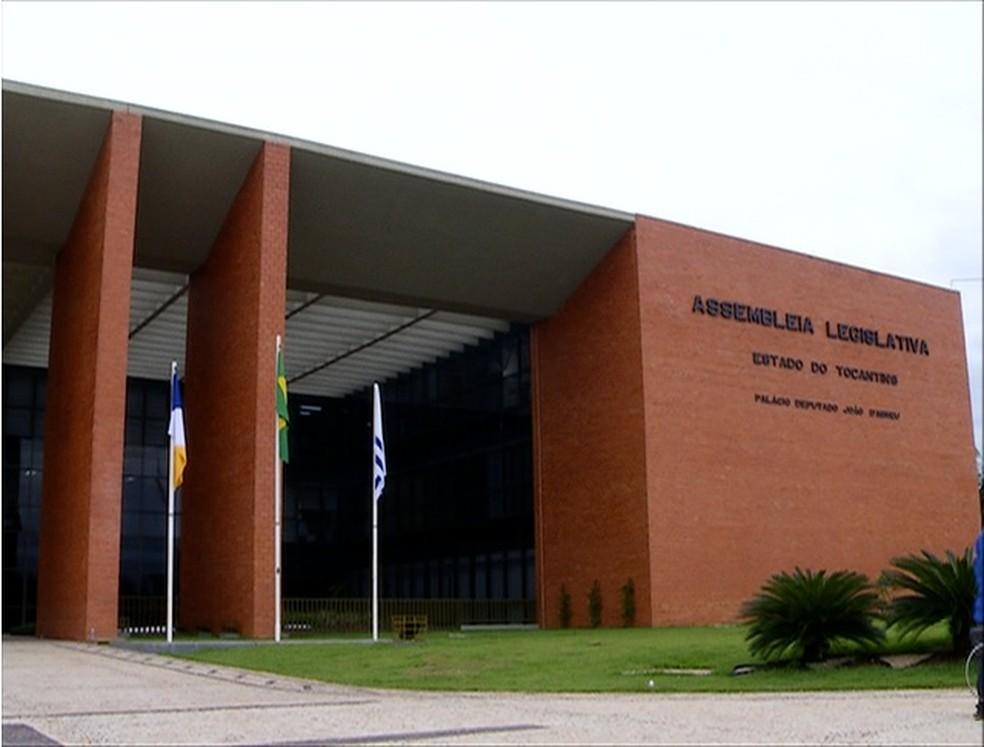 Assembleia Legislativa do Tocantins (Foto: Reprodução/TV Anhanguera)