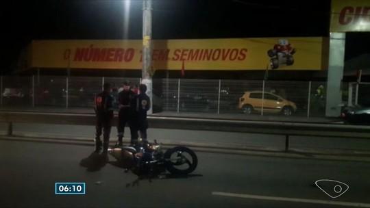 Sobrinho de ex-vereador morre em acidente de moto na Serra, ES
