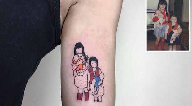 tatuagem, fotografia antiga (Foto: Divulgação)