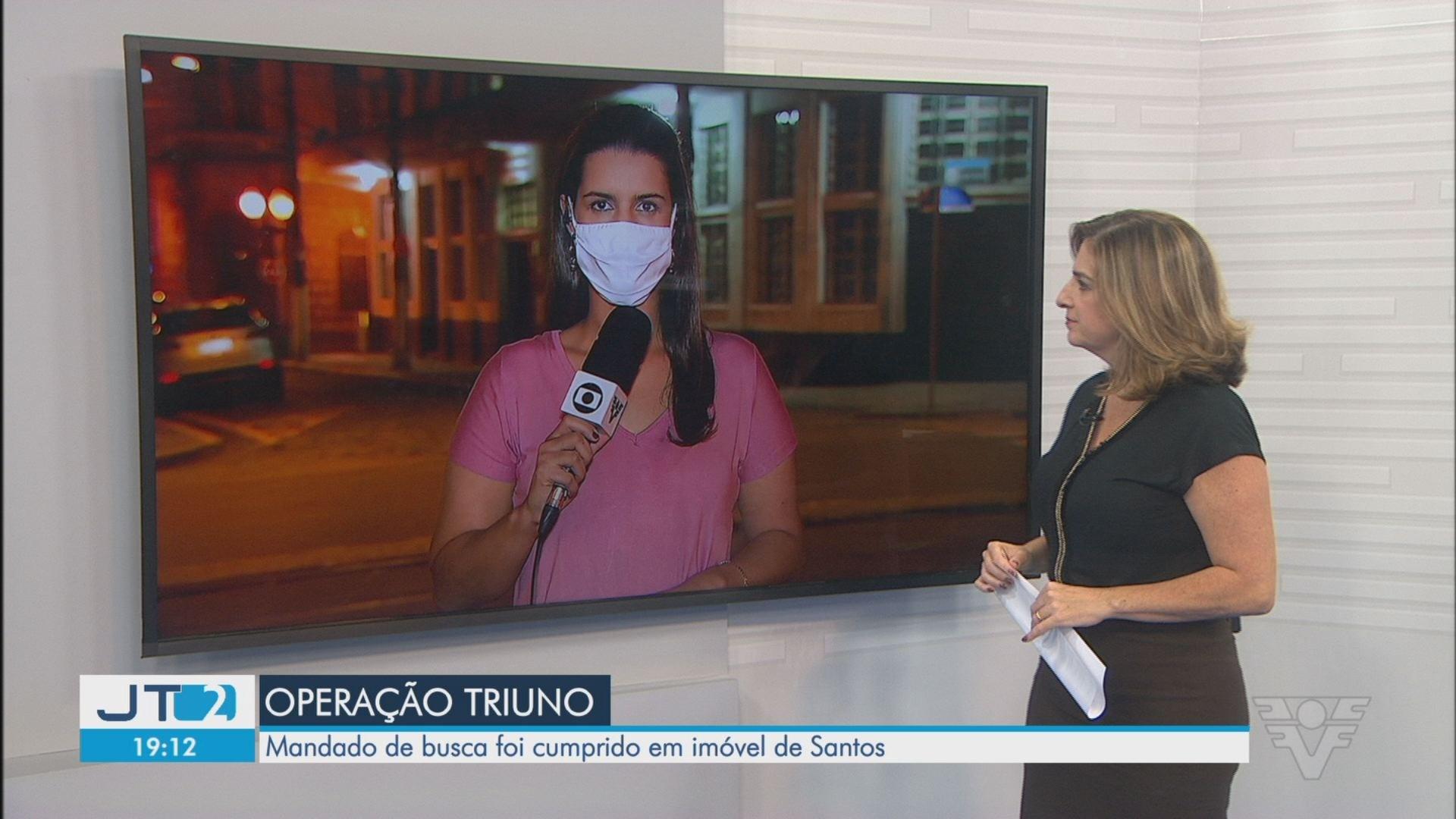 VÍDEOS: Jornal da Tribuna 2ª Edição de segunda-feira, 26 de outubro