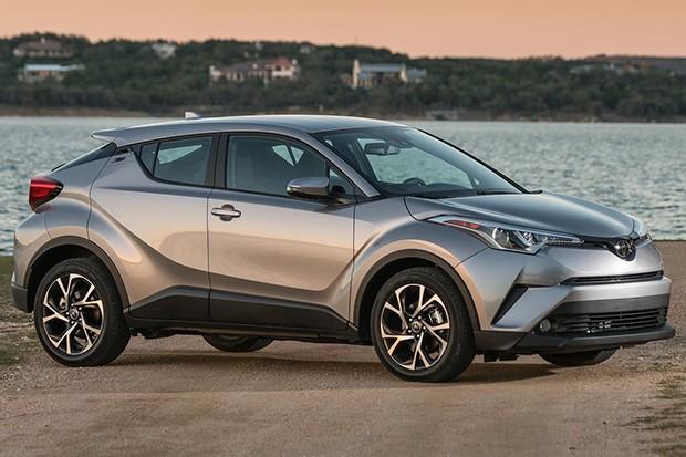 Toyota C-HR versão norte-americana (Foto: Divulgação)