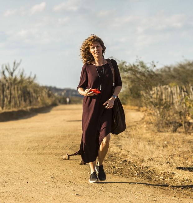 Patrícia Pillar interpreta Cássia, personagem de destaque em 'Onde nascem os fortes' (Foto: Divulgação/TV Globo)