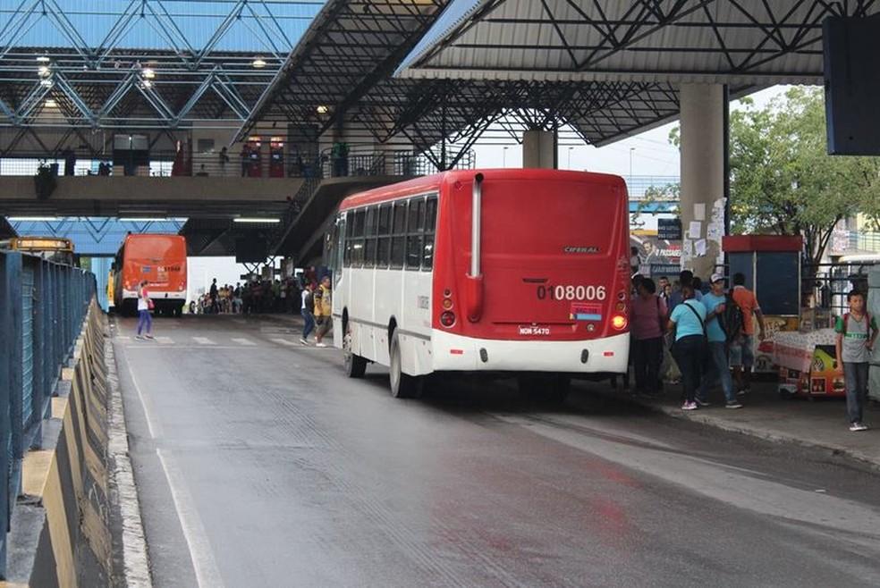 Cadastro para meia passagem em 2020 tem início nesta segunda  em Manaus — Foto: Patrick Marques/G1 AM