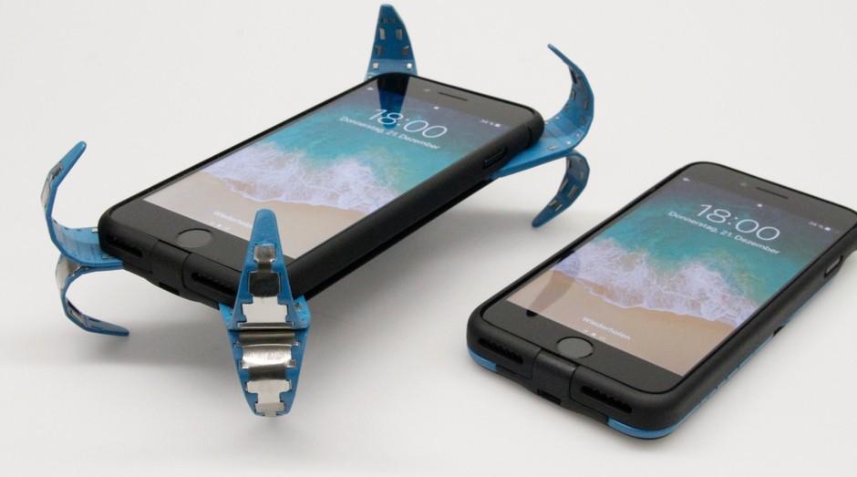 celular, amortecedor (Foto: Divulgação)