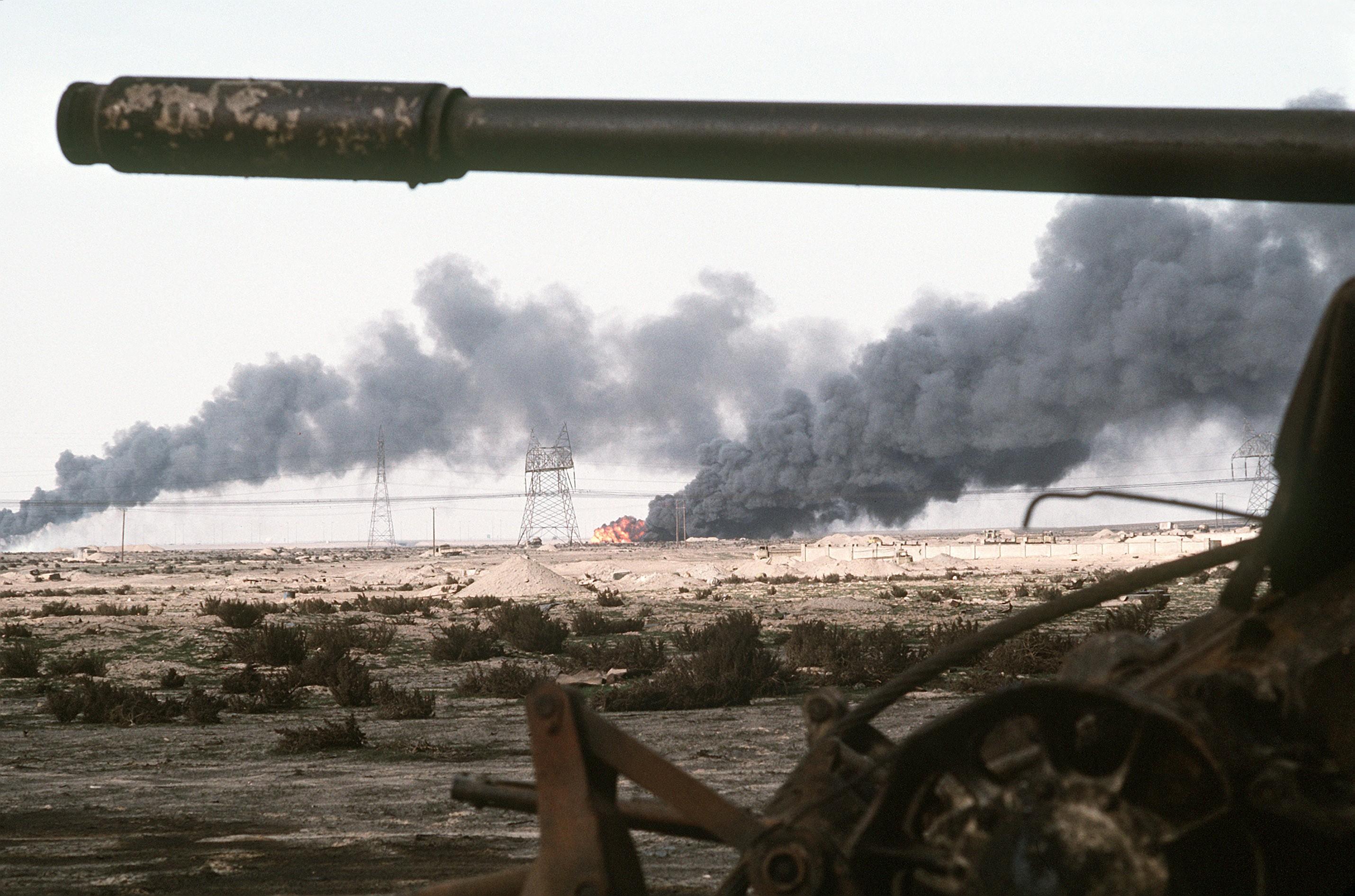 Fundação teria atuado durante Guerra do Golfo, em 1991 (Foto: Wikimedia Commons)