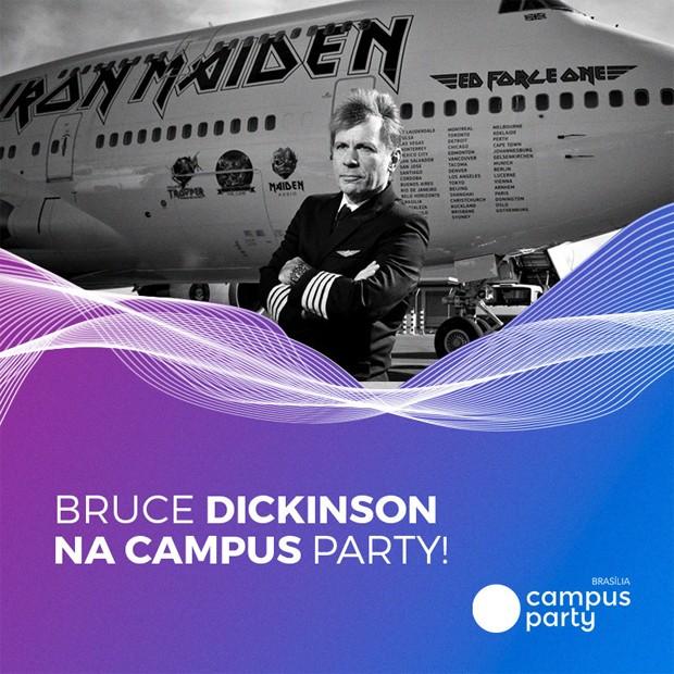 Bruce Dickinson (Foto: Reprodução/Instagram)
