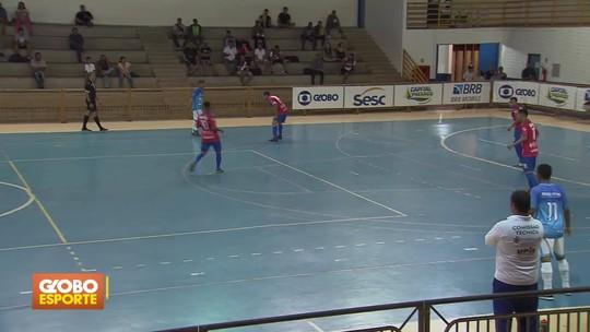 Cruzeiro goleia Lago Norte por 8 a 4 e assume a liderança do Grupo E da Copa Brasília de Futsal