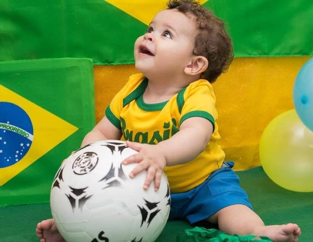 Ensaio Copa do Mundo (Foto: Reprodução Instagram/Sheila Alves Fotografia)