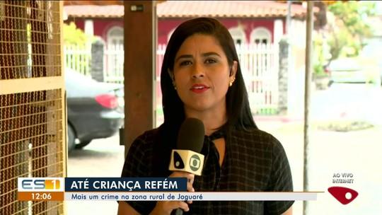 Criminosos invadem casa e fazem família com bebê refém em Jaguaré, ES