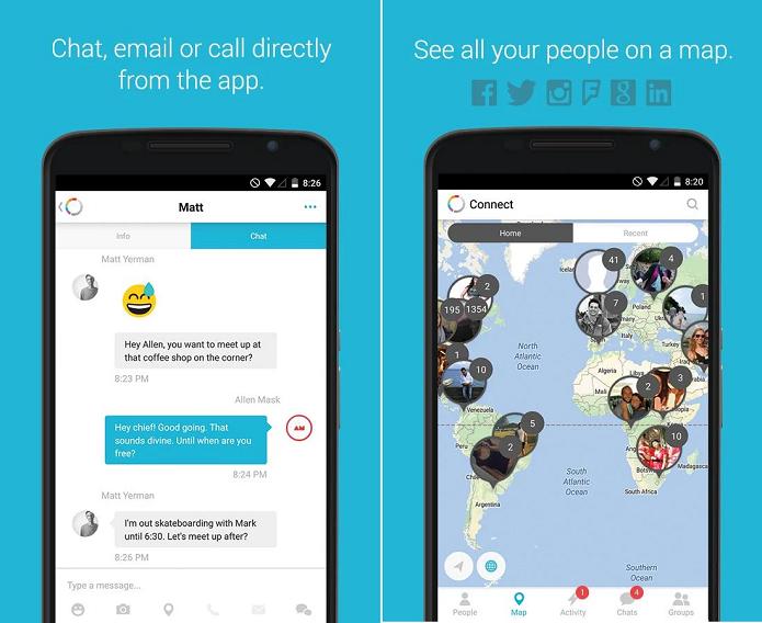 Connect é um aplicativo que unifica redes sociais (Foto: Reprodução)
