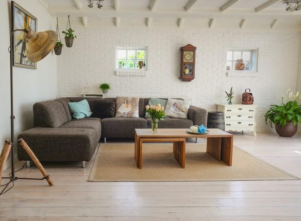 A decoração da casa também pode ser sustentável (Foto: Pexels)