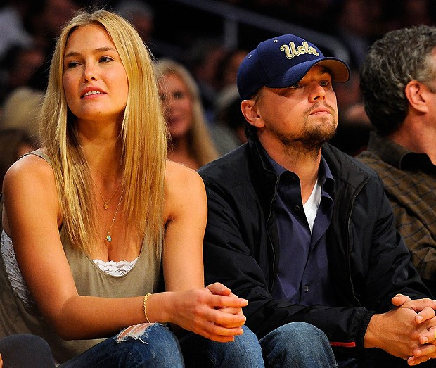 DiCaprio e Bar Refaeli (Foto: Getty Images)