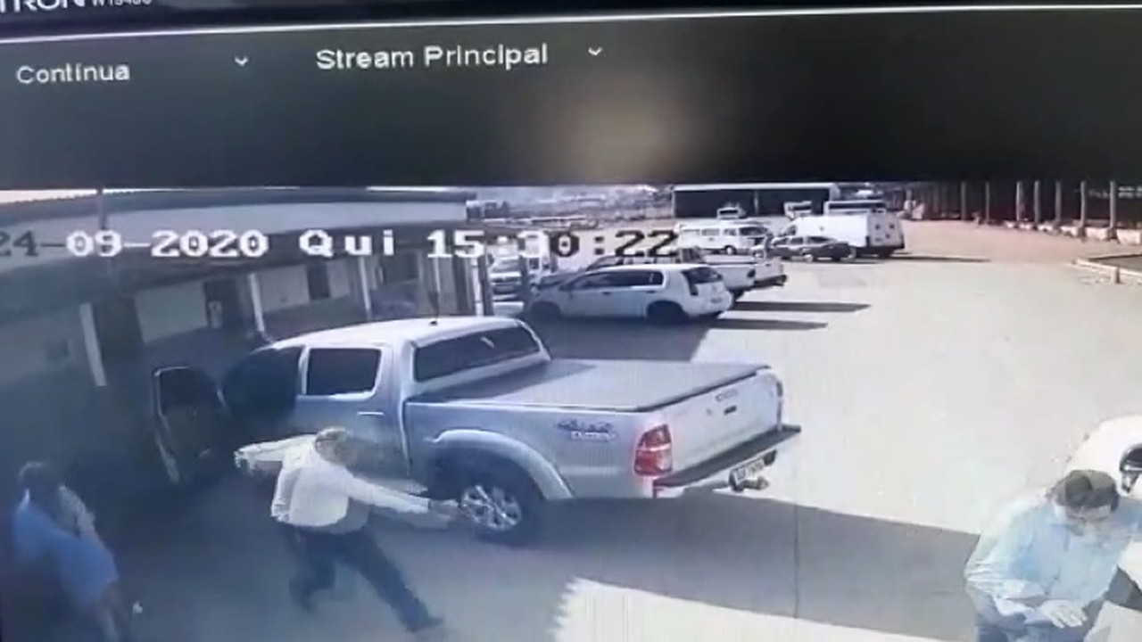 Vídeo mostra momento em que Cássio Remis foi baleado em Patrocínio