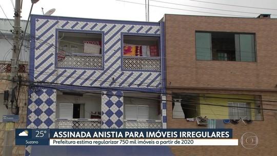 Prefeitura de SP aprova lei que anistia 750 mil imóveis irregulares