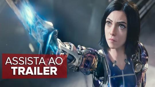 'Alita - Anjo de Combate' estreia nos cinemas da Paraíba
