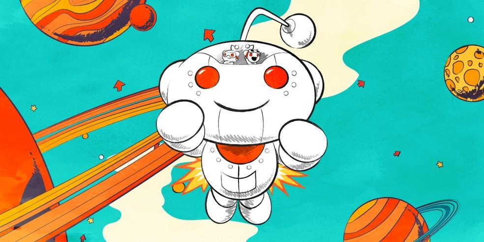 Um dos sites mais populares dos EUA, Reddit recebe aporte de US$ 300 milhões. — Foto: Divulgação/Reddit